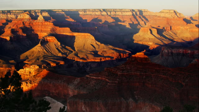 from mather point 2 - grand canyon stock-videos und b-roll-filmmaterial
