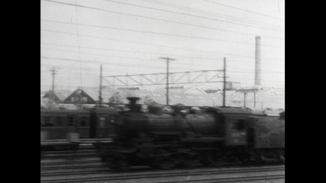 pov from moving train of railway yards ; 1959 - 1950 1959 stock videos & royalty-free footage