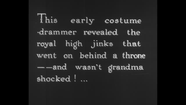 "[from paramount screen souvenirs, 1932] [with added vo narration throughout, not part of original movie] qs title card: ""a hero of pioneer days! a... - 1900 1909 video stock e b–roll"