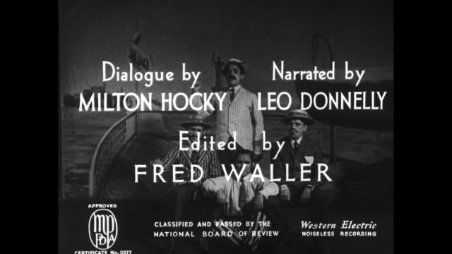 [from paramount screen souvenirs 1935] title card paramount varieties superimposed over paramount mountain logo / intertitle intro adolph zukor... - lillian board stock videos & royalty-free footage