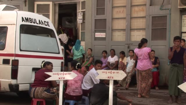 from political activists freed after years in myanmar's jails to stricken and impoverished families, all are welcome at a free hospital run by... - religious symbol stock videos & royalty-free footage