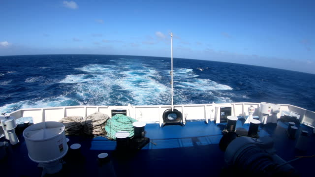 from the bridge of  boat in a stormy sea - atlantic ocean stock videos & royalty-free footage