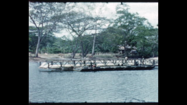 vidéos et rushes de from the home movie collection of jack dennis boles . boles spent 17 years in the colonial service in british north borneo, with his final years as... - colony