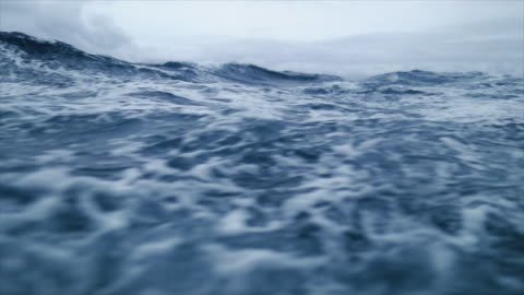 from the porthole window of a vessel in a stormy sea - environment stock videos & royalty-free footage