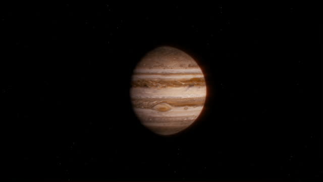 CGI ZI from WS to MS of the planet Jupiter
