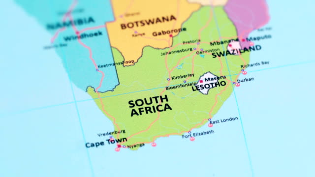 south africa on africa map 266 South Africa Map Videos And Hd Footage Getty Images