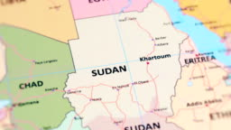 643 Sudan Map Videos And Hd Footage Getty Images