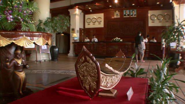 Ms Front Desk Of Exotic Luxury Hotel Sihanoukville Cambodia ...