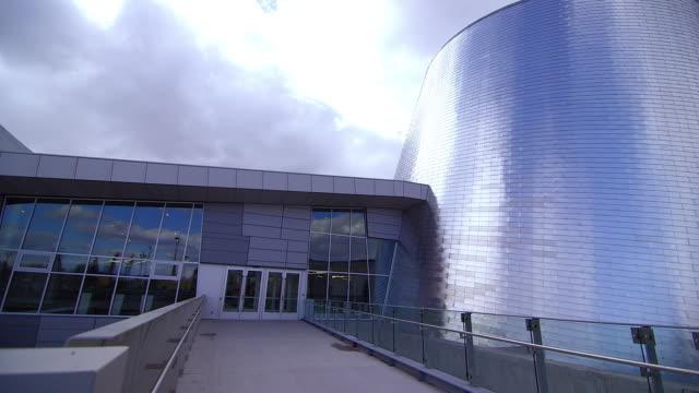 Front of Montreal Planetarium