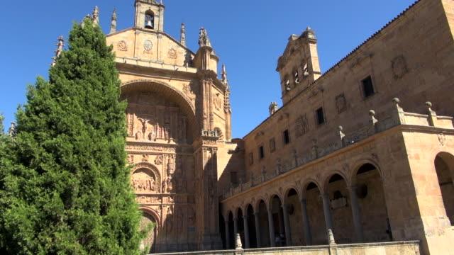 Front of San Esteban Monastery with Tree