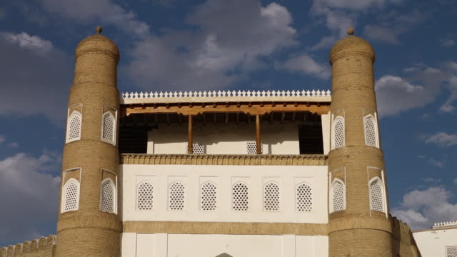 front of the ark of bukhara - circa 5th century stock videos & royalty-free footage