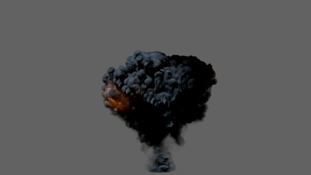 front view explosion - fireball stock videos & royalty-free footage