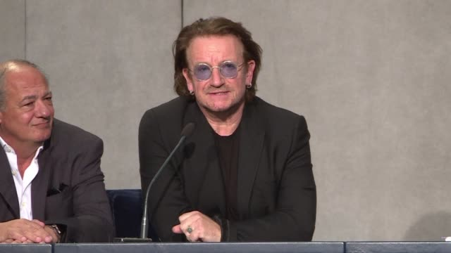 U2 frontman Bono says he could see the pain on Pope Francis's face when he told him it looks to some people that the abusers are being more protected...