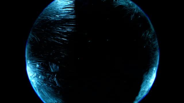 フロスティング - 凍った点の映像素材/bロール
