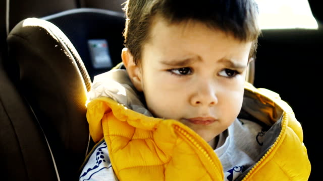 frowned toddler boy - anger stock videos & royalty-free footage
