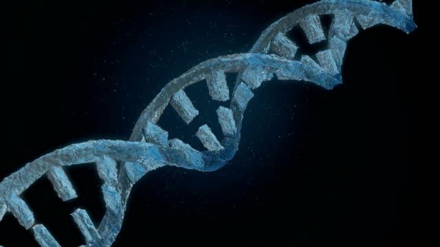 Frozen DNA helix