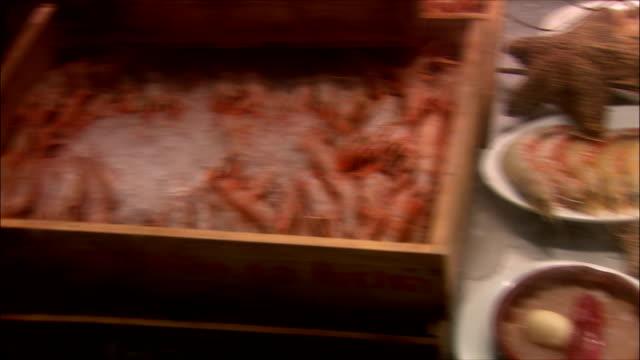 vídeos y material grabado en eventos de stock de ms pan frozen seafood, madrid, spain - pescado y mariscos