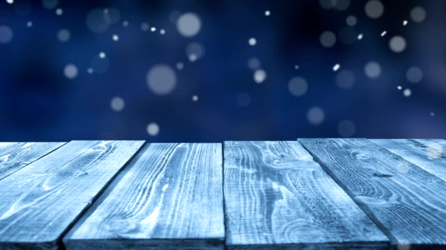 frozen table outdoors - loopable - surface level stock videos & royalty-free footage