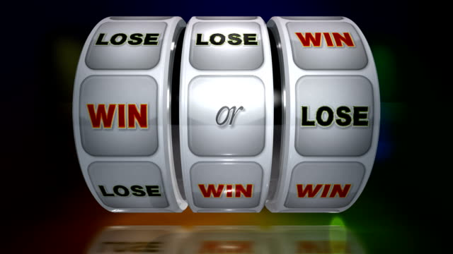 fruit machine: win or lose - loss stock videos & royalty-free footage