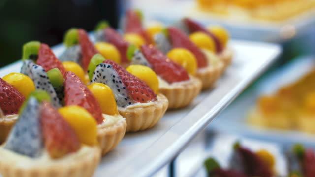 Früchtetorte-dessert