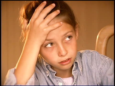 frustrated girl rolling eyes - rolling eyes stock videos & royalty-free footage