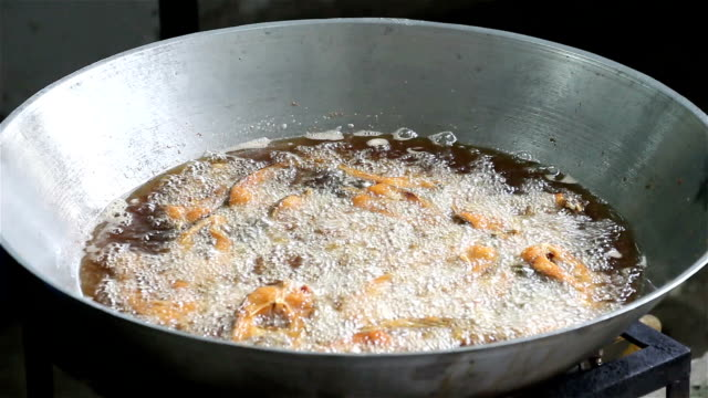 frying fish in pan with vegetable oil - full hd format stock videos & royalty-free footage