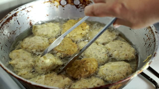 frying vegatables with cheese - aubergine stock videos & royalty-free footage