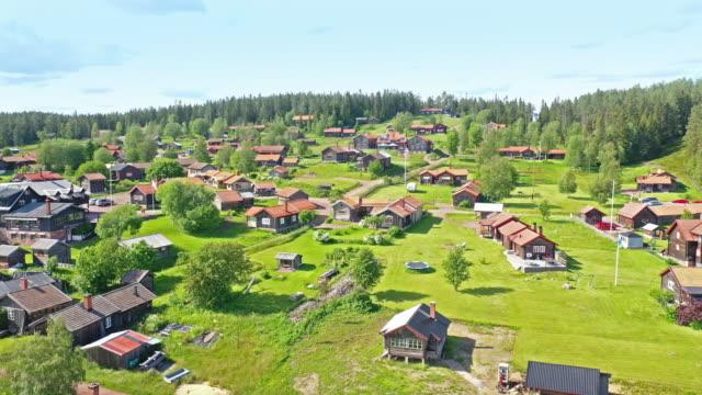 fryksås, dalarna - chalet stock videos & royalty-free footage
