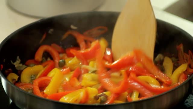fryng food - pan greek god stock videos & royalty-free footage