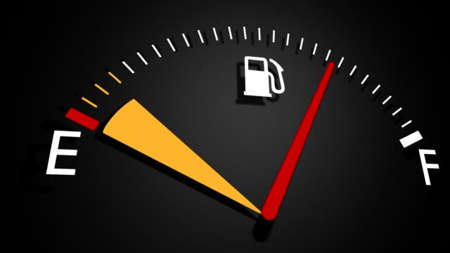 fuel gauge - gauge stock videos & royalty-free footage