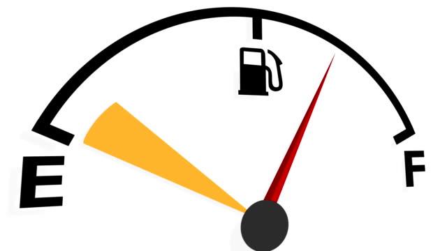 fuel gauge - fuel pump stock videos & royalty-free footage