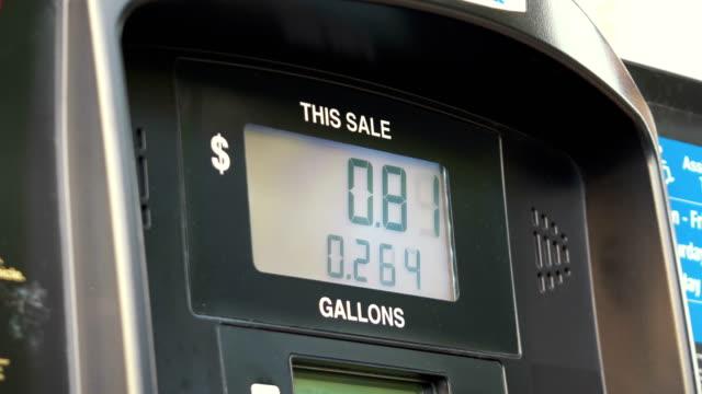 Fuel Pump Counter Dollars in 4K