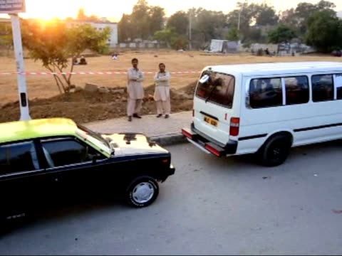 fuel shortage causes the closure of gas stations in the northeastern punjab provinces of karachi and long queues of vehicles have built up at gas... - punjab pakistan stock videos and b-roll footage
