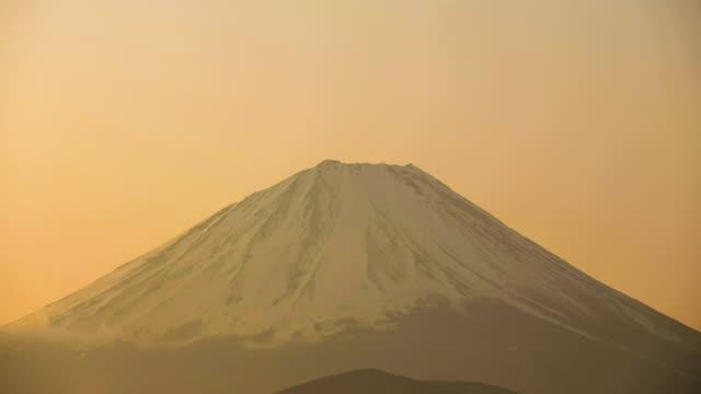 4K Fuji mt. at morning timelapse.