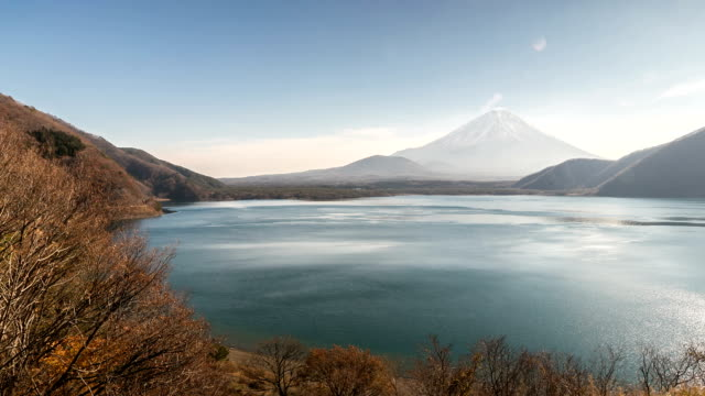 HD: Fujisan Landschaft am lake Motosu