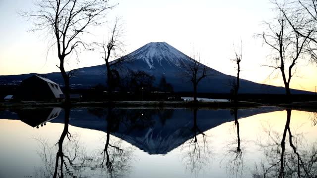 Fujisan sunrise at Fumoto Para Camping