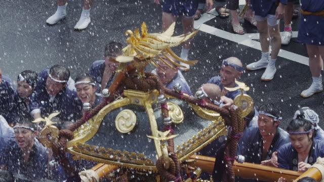 fukagawa hachiman festival - 伝統行事点の映像素材/bロール