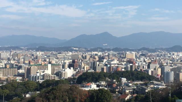 vídeos de stock, filmes e b-roll de cidade de fukuoka - prefeitura de fukuoka