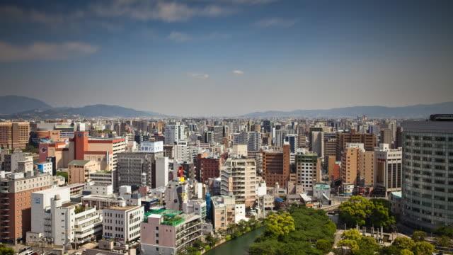 Fukuoka Cityscape Timelapse