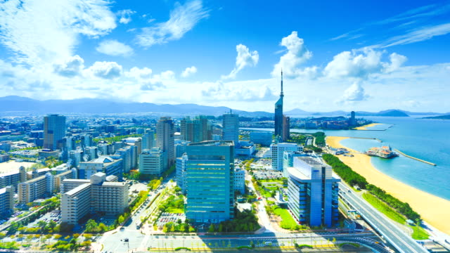 fukuoka, japan - fukuoka prefecture stock videos & royalty-free footage