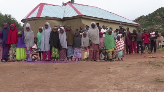 fulani muslim herders in central nigeria are accused of being behind the massacre of more than 200 christian farmers last week - jos nigeria stock videos & royalty-free footage