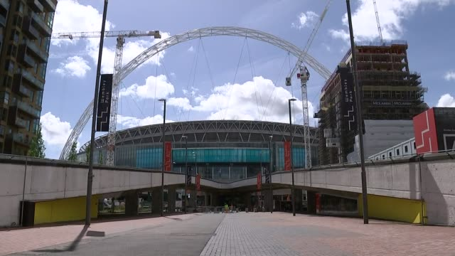 Fulham and Jacksonville Jaguars owner Shahid Khan in bid to buy Wembley Stadium Wembley Wembley Stadium General views Wembley Stadium seats and stands