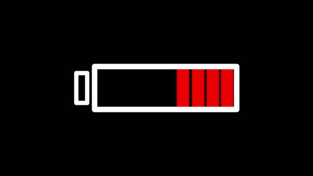 vidéos et rushes de batterie complète - symbole
