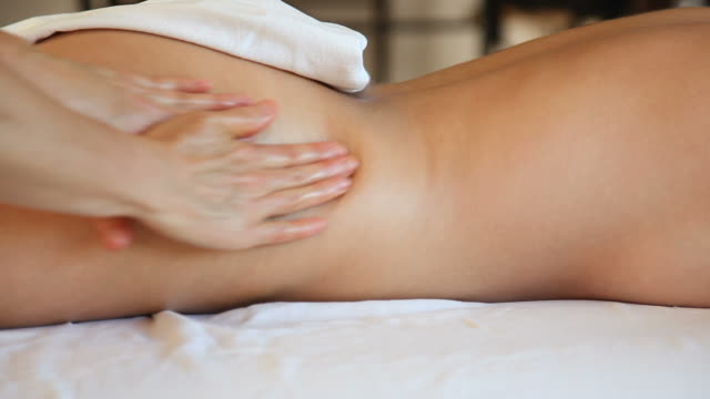 full body massage - adult stock videos & royalty-free footage