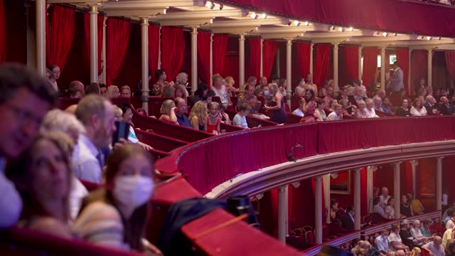 full crowd fill the seats ahead of the royal albert 150th anniversary concert at royal albert hall on july 19, 2021 in london, england as freedom day... - freedom stock videos & royalty-free footage