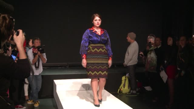 Full figured women had their day on the catwalks of New York on Friday when hometown designer Eden Miller unveiled her plus size collection a fashion...