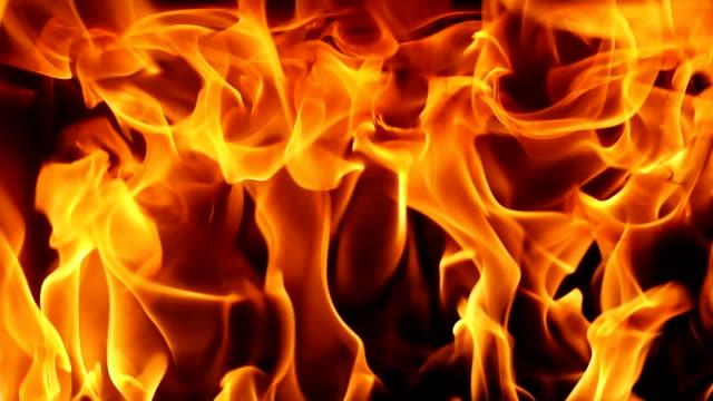 HD Full Frame Burning Flames