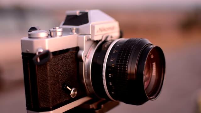 Formatfüllend alten Kamera