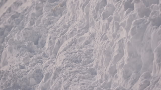 full frame shot of snow covered mountain - full frame stock videos & royalty-free footage