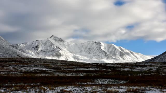Full HD Tombstone Territorial Park Yukon Canada Time Lapse